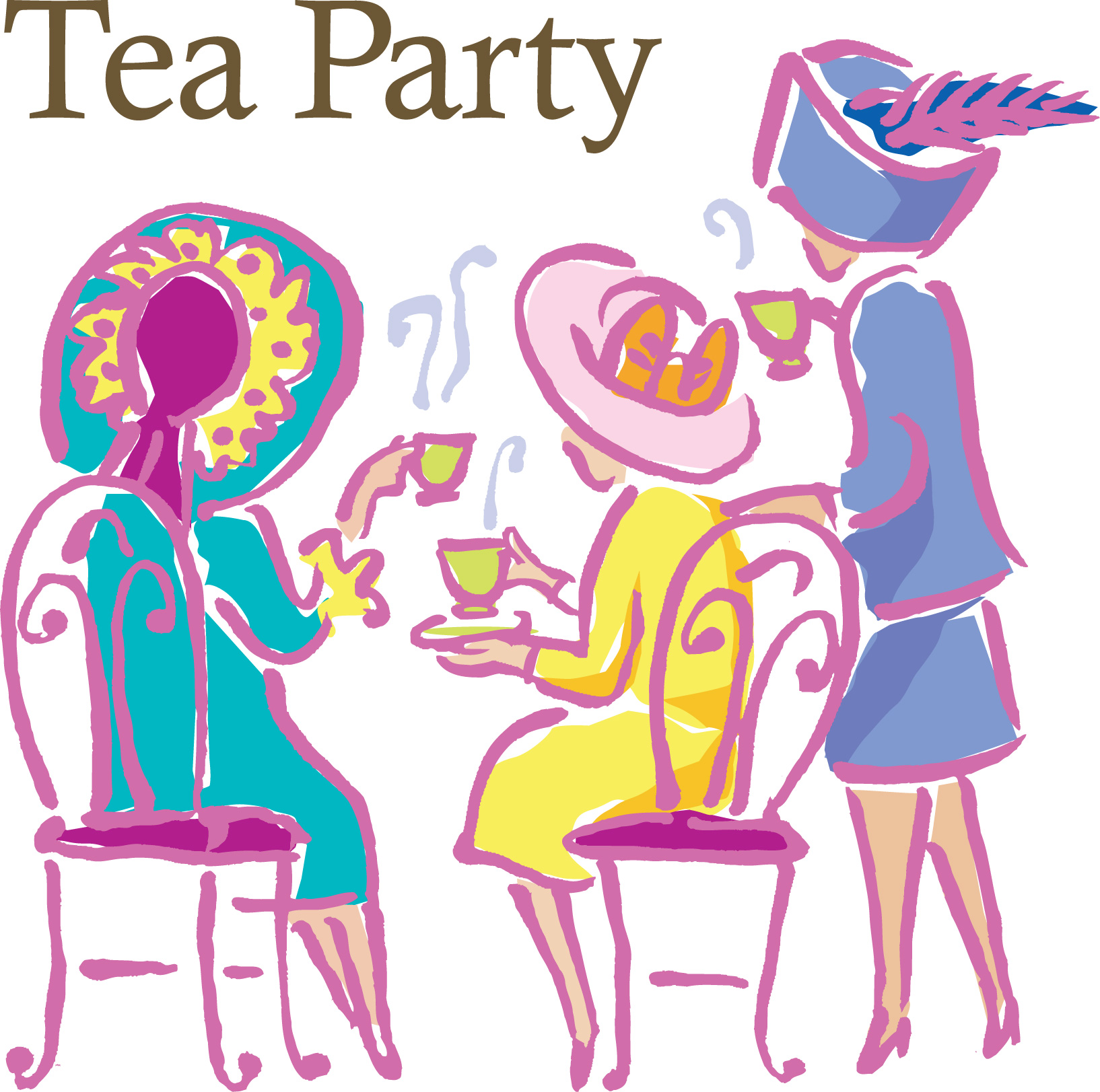 tea women Tea parties are a reminder of past times when a hostess put a great deal of effort into preparing refreshments, place settings and entertainment for her guests a fun idea for a modern tea party is to incorporate victorian era parlour games into the entertainment.